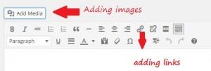 add links and images